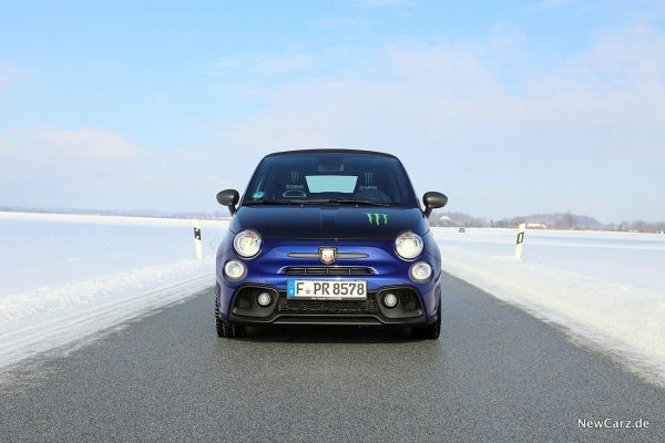 Front des Abarth 595C Monster Energy Yamaha