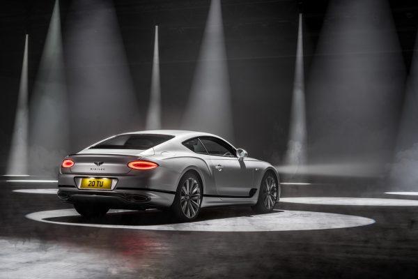 Bentley Continental GT Speed schräg hinten