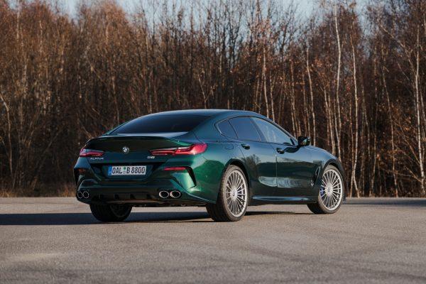 BMWAlpina B8 Gran Coupe schräg hinten