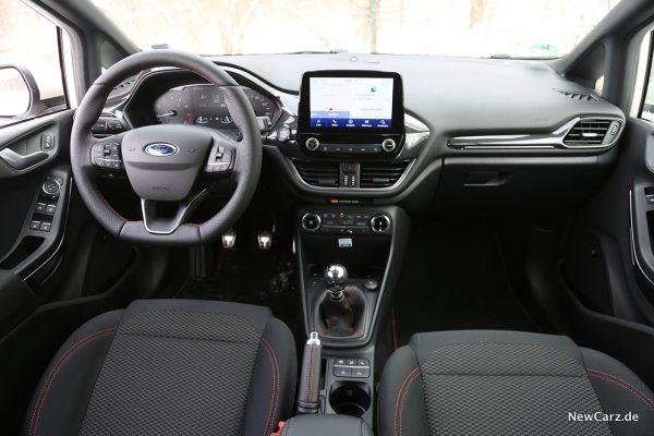 Interieur Kleinwagen Fiesta