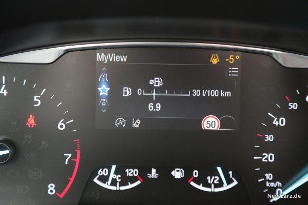Verbrauch Drittelmix Fiesta Hybrid