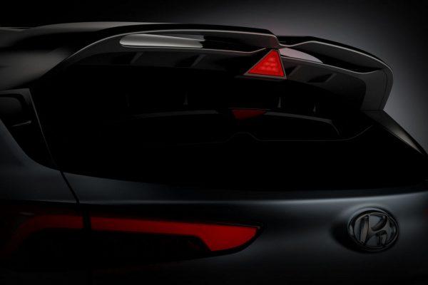 Hyundai Kona N Dachspoiler
