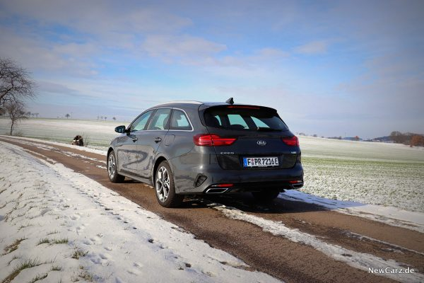 Kia Ceed Sportswagon PHEV hinten links