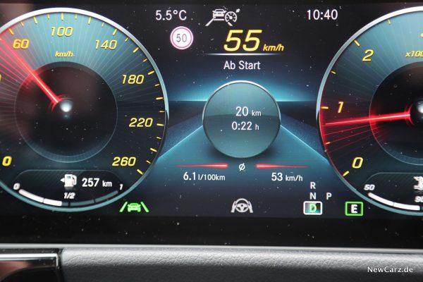Sparrunde Verbrauch Mercedes-Benz GLA 220d 4Matic