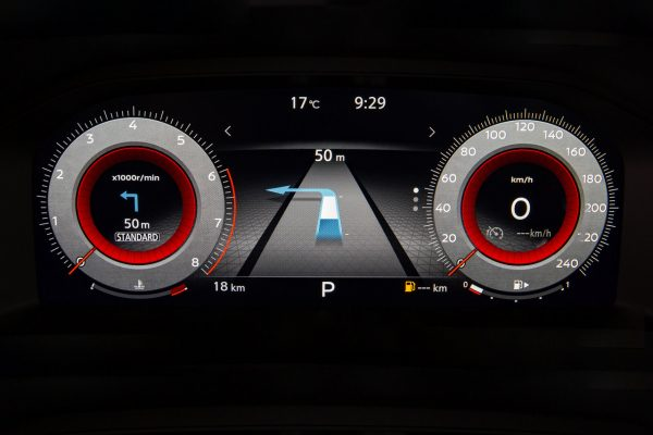 Nissan Digitales Cockpit