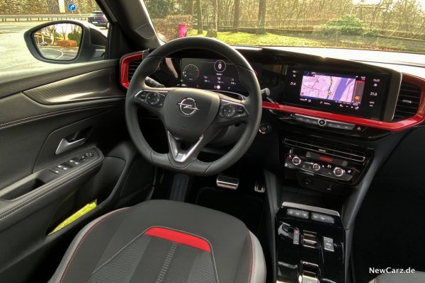 Opel Mokka Innenraum