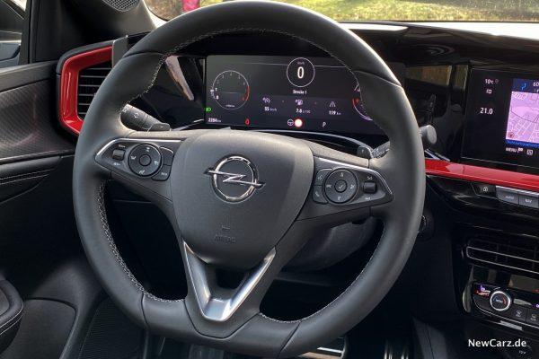 Opel Mokka Lenkrad