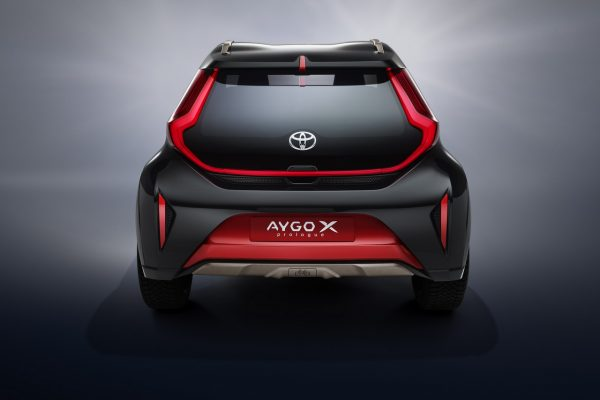 Toyota Aygo X Prologue Heck
