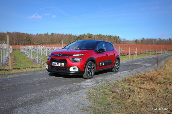 Citroen C3 Facelift schräg vorn links
