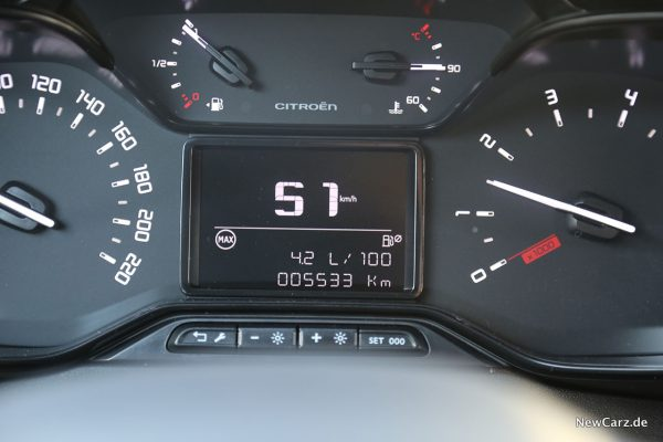 Sparrunde Citroen C3 Facelift Verbrauch