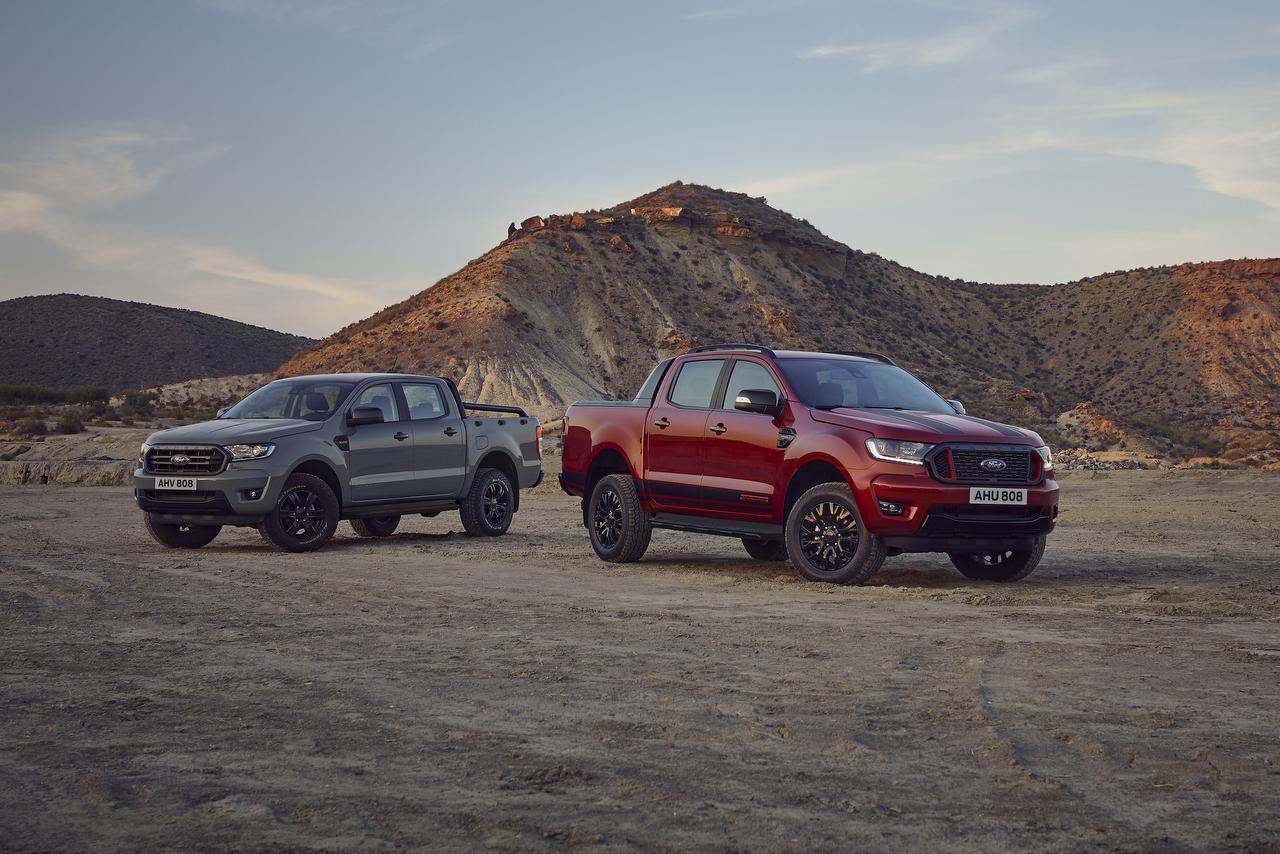 Ford Ranger Stormtrak und Wolftrak