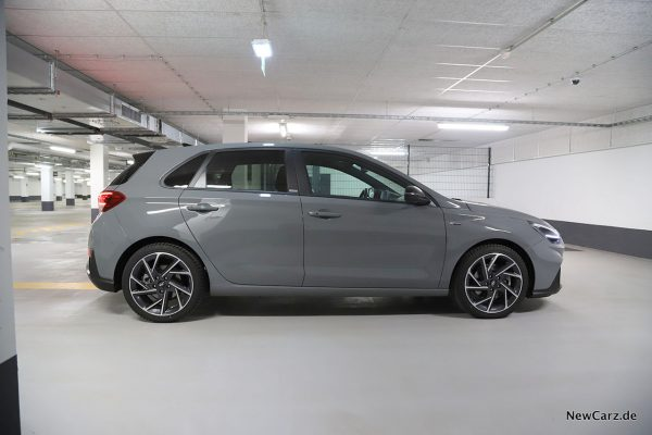 Hyundai i30 Facelift Seitenansicht
