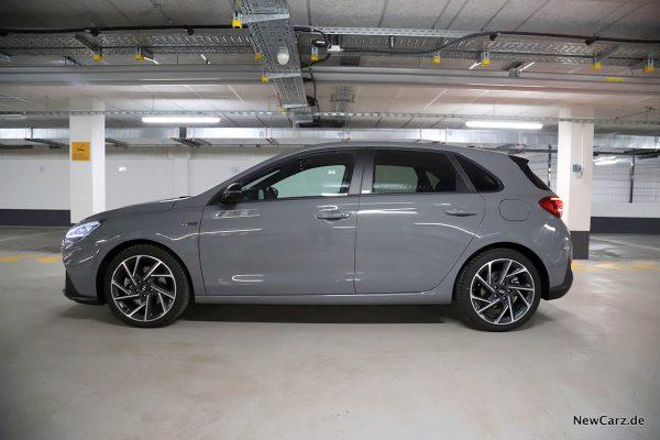 Hyundai i30 Facelift Seite