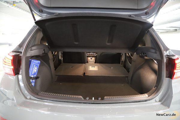 Kofferraum maximal i30