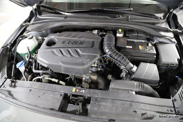 Motorraum 1.6 CRDi 48-Volt