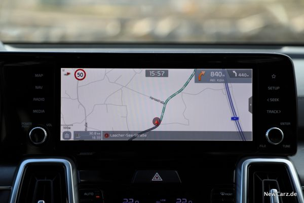 Kia Navigationssystem