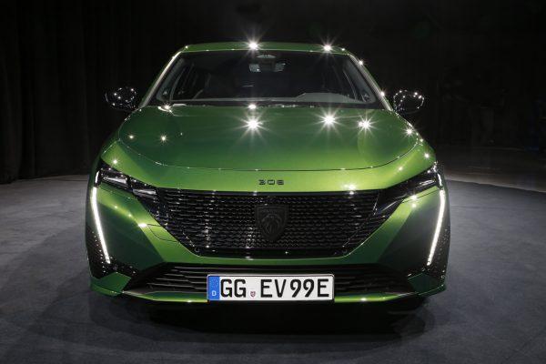 Peugeot 308 2021 Front