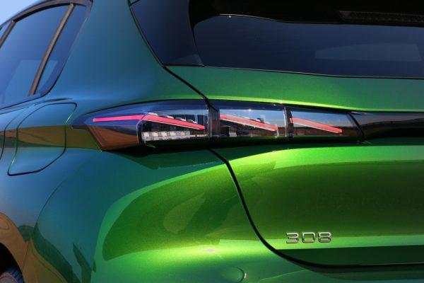 Peugeot 308 2021 Heckleuchten