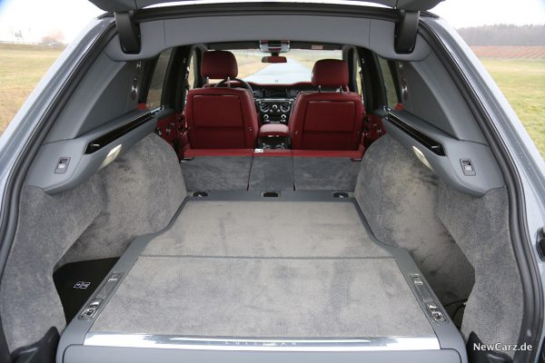 Kofferraum Rolls-Royce Cullinan Black Badge