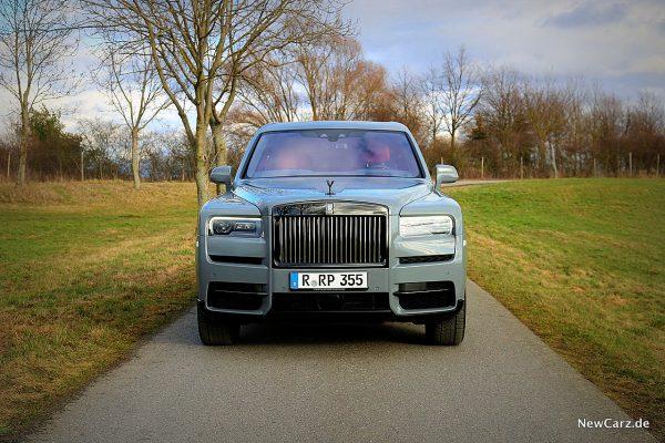 Rolls-Royce Cullinan Black Badge Frontbereich
