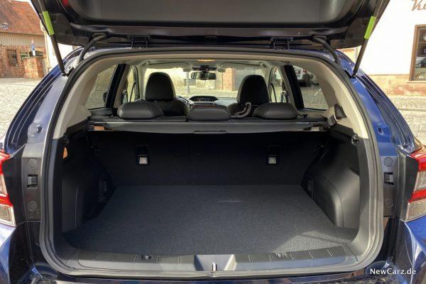 Subaru Impreza e-Boxer Kofferraum