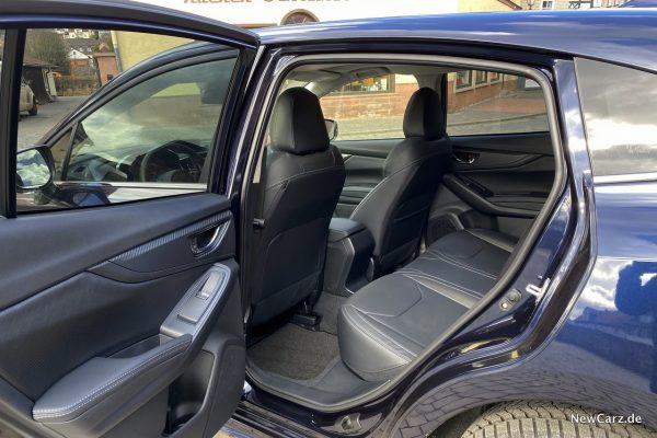 Subaru Impreza e-Boxer Rücksitze