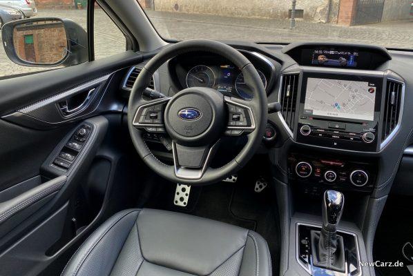 Subaru Impreza e-Boxer Innenraum