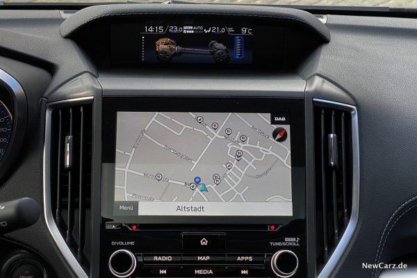 Subaru Navigationssystem