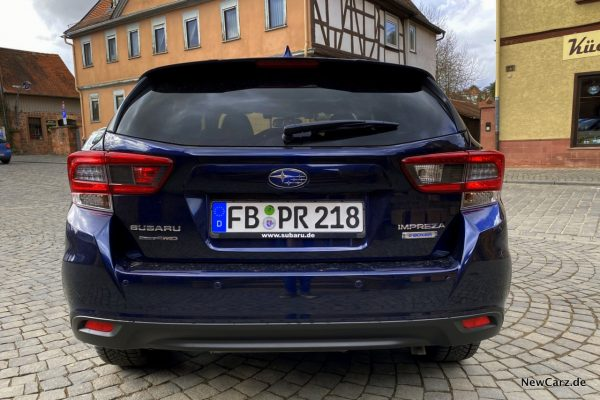 Subaru Impreza e-Boxer Heck