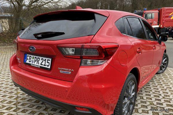Subaru Impreza e-Boxer Rot