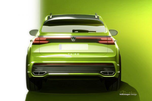 VW Taigo Heck
