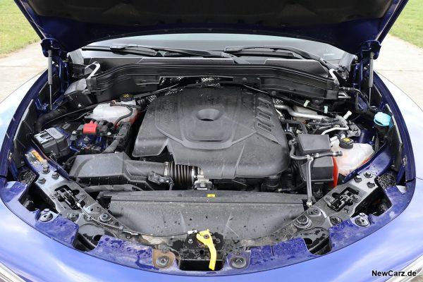 Motorraum Stelvio Diesel
