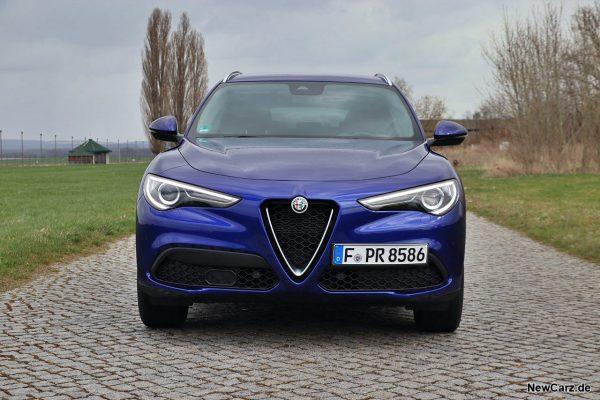 Alfa Romeo Stelvio Facelift Front