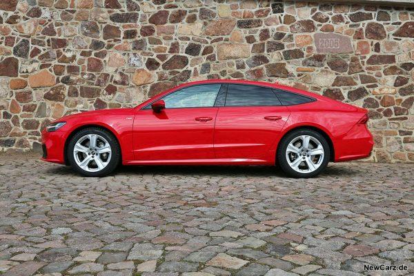 Audi A7 Sportback Seite