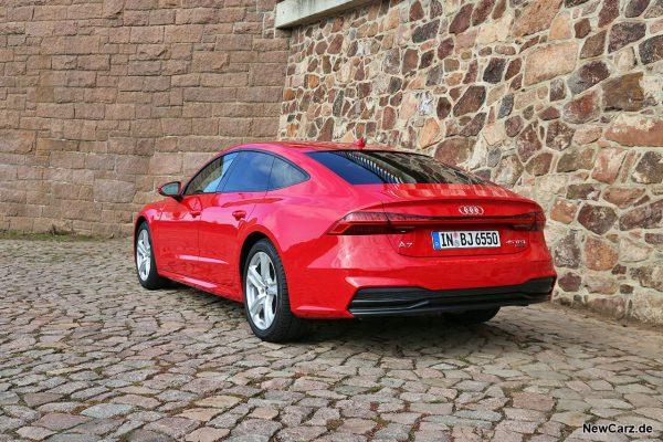 Audi A7 Sportback schräg hinten links