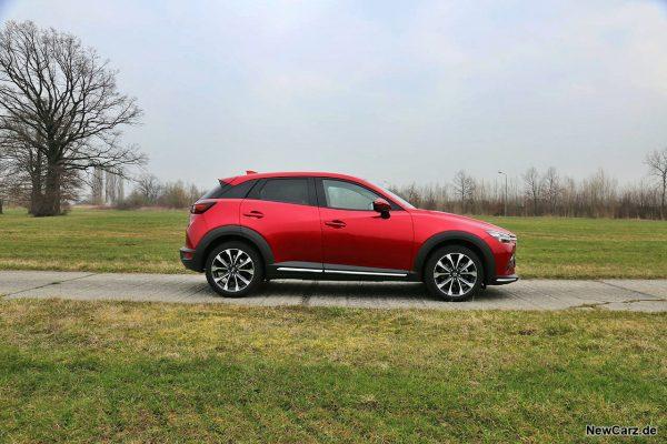 Mazda CX-3 Seitenansicht