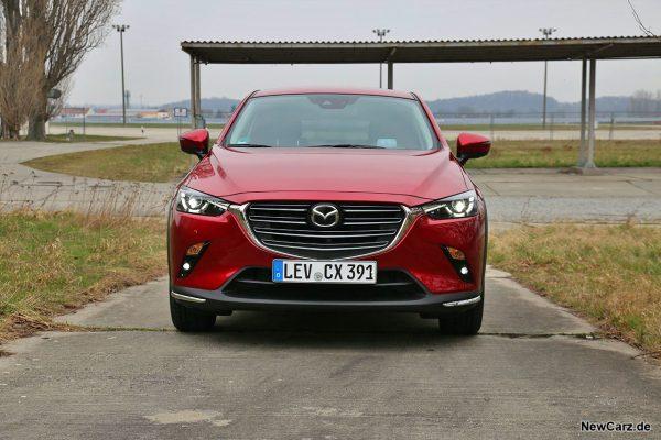 Mazda CX-3 Frontbereich