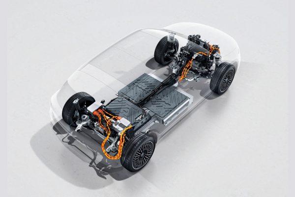 Mercedes-Benz EQA Allradantrieb