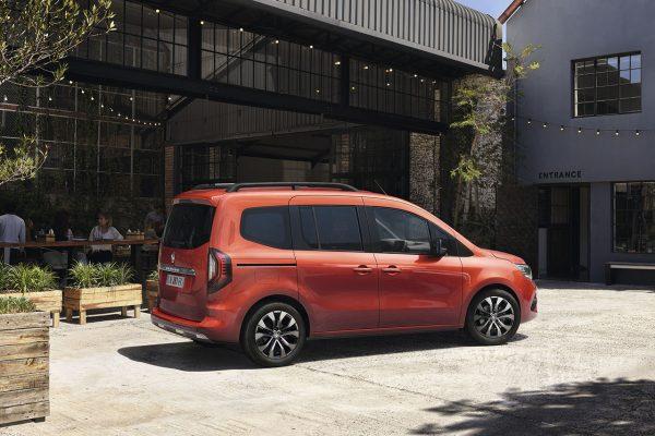 Renault Kangoo 2021 seitlich
