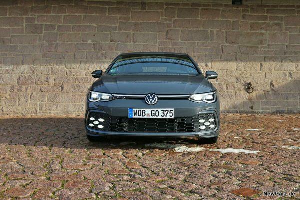 VW Golf 8 GTD Front