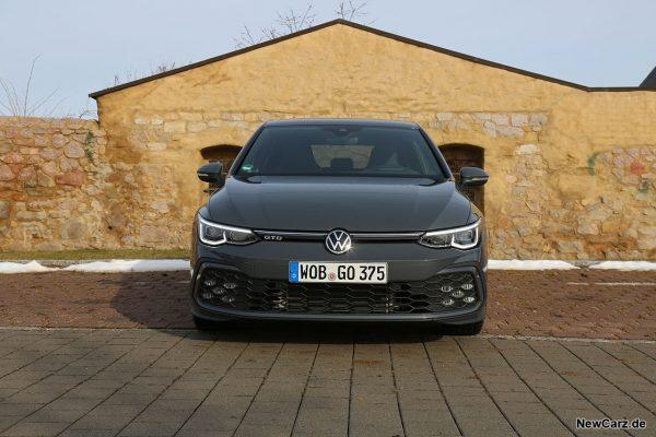 VW Golf 8 GTD Frontbereich