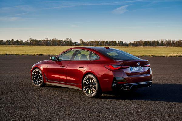 BMW 4er Gran Coupe schräg hinten links