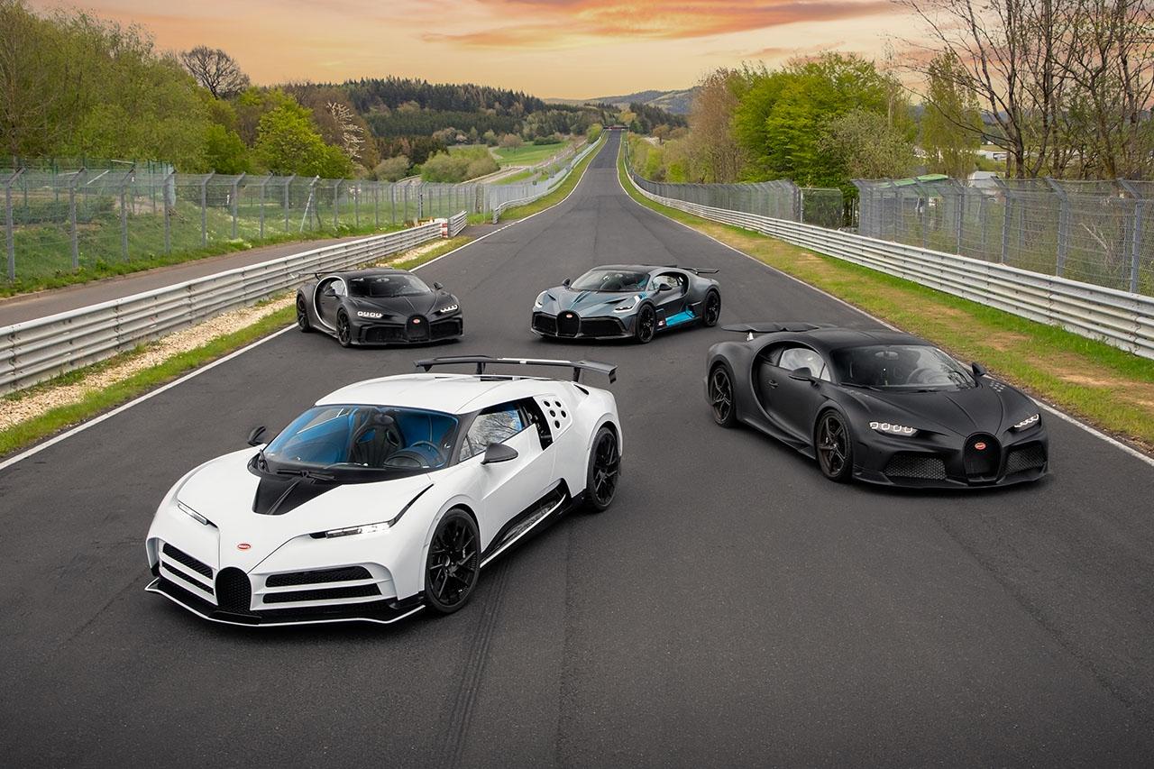 Bugatti Flotte