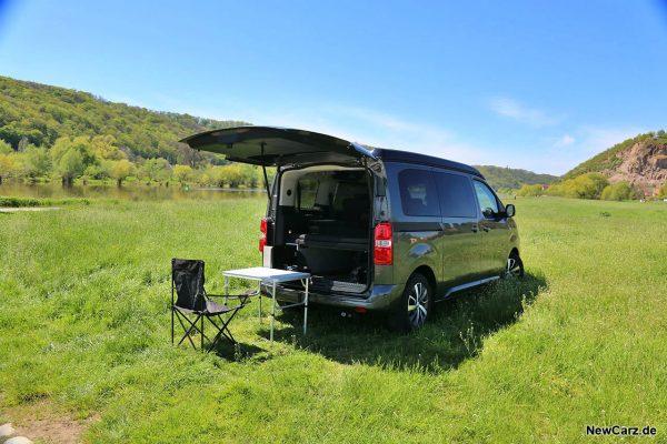 Crosscamp Lite beim Camping