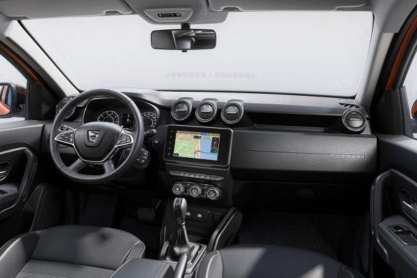 Innenraum Dacia Duster Facelift