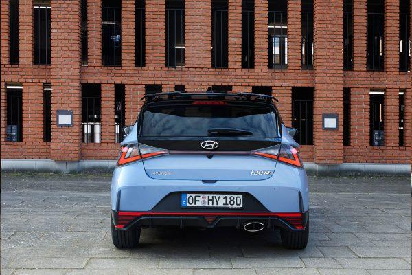 Hyundai i20 N Heckbereich
