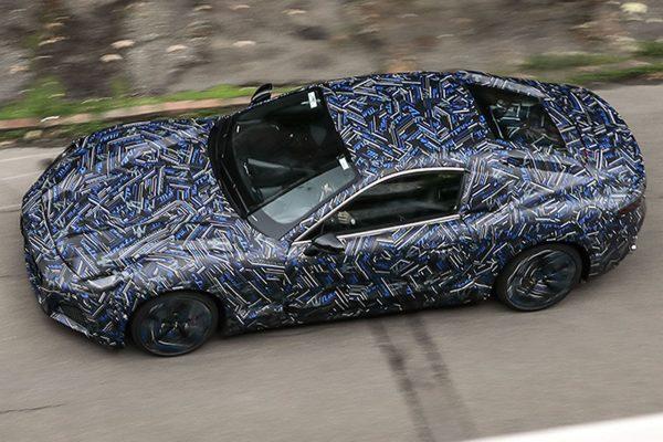 Maserati GranTurismo oben