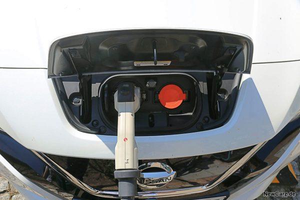Ladeanschluss Nissan Leaf
