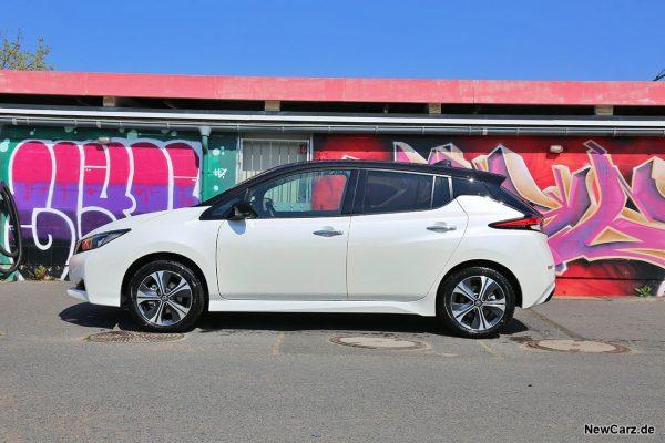 Nissan Leaf e+ Seite