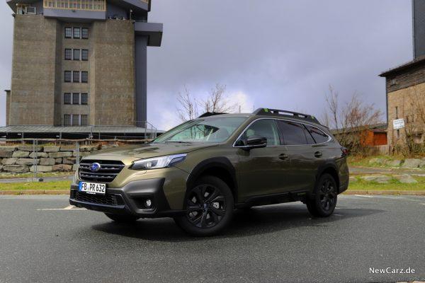 Subaru Outback 2021 Autumn Green Metallic